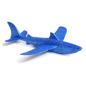 FMS 365MM FREE FLIGHT SHARK GLIDER KIT