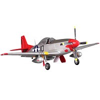 FMS P51 MUSTANG ARTF w/RETRACT w/o TX/RX/BAT - RED TAIL (V8)