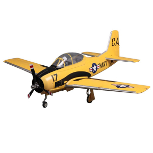 FMS 1400MM T-28D V4 TROJAN SUPERSCALE ARTF w/o TX/RX/BATT YELLOW