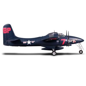 FMS 1700MM F7F TIGERCAT BLUE ARTF WARBIRD w/o TX/RX/BATT