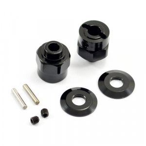 FASTRAX AXIAL HEX WHEEL HUB FOR WRAITH (2) / 5mm WIDER