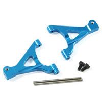 FASTRAX TRAXXAS MINI SLASH BLUE ALUM FRONT UPPER ARMS