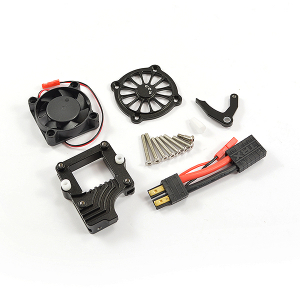 FASTRAX TRX-4 ALLOY ESC COOLING FAN w/SWITCH