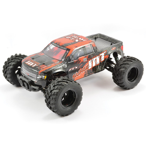 FTX SURGE 1/12 BRUSHED MONSTER TRUCK READY-TO-RUN (ORANGE/BLACK)