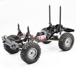 FTX OUTBACK 2 ROLLING CHASSIS COMBO 1:10 W/TREKA CLEAR