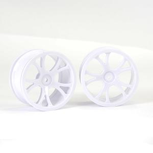 FTX VANTAGE REAR WHEEL 2PCS - WHITE