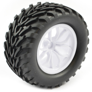 FTX BUGSTA MOUNTED WHEEL/TYRE COMPLETE PAIR - WHITE
