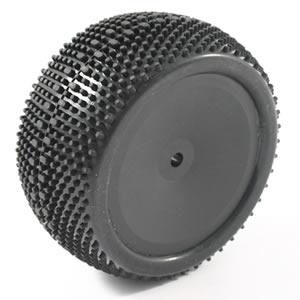 FTX EDGE REAR MOUNTED WHEELS/TYRES (PR) - BLACK