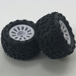 FTX COLT TRUCK WHEEL/TYRE SET 1 PAIR