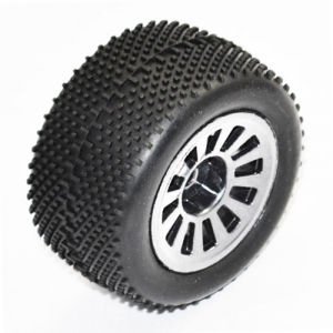 FTX COLT BUGGY WHITE WHEEL/TYRE SET 1 PAIR
