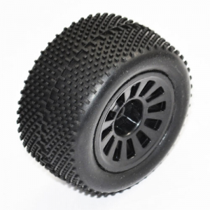 FTX COLT BUGGY BLACK WHEEL/TYRE SET 1 PAIR