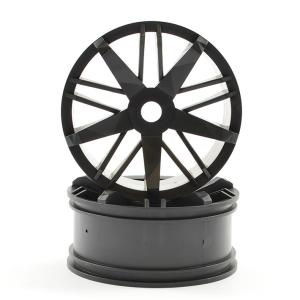 FTX FUTURA BLACK FRONT WHEELS (PR)