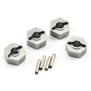 FTX MAULER ALUMINIUM WHEEL HEX W/PINS (PCS)