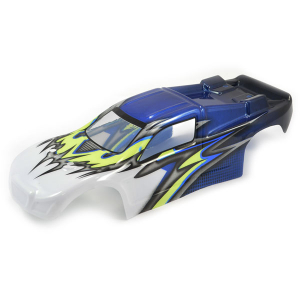 FTX COMET TRUGGY BODYSHELL PAINTED BLUE/YELLOW