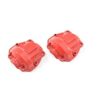 FTX OUTBACK FURY ALLOY AXLE BOX COVER RED (2PCS)