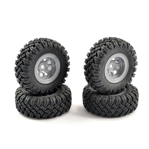 FTX MINI OUTBACK 2.0 WHEEL & TYRE SET (4)