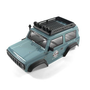 FTX MINI OUTBACK 2.0 PASO LEXAN BODY/CAGE/LED - GREY