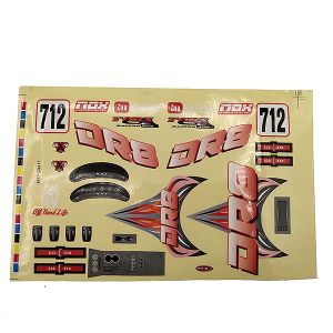 FTX DR8 DECAL - RED