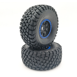 FTX DR8 TIRE SET(BLUE)