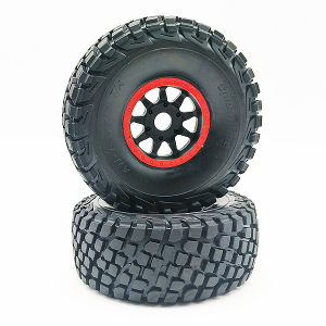 FTX DR8 TIRE SET(RED)