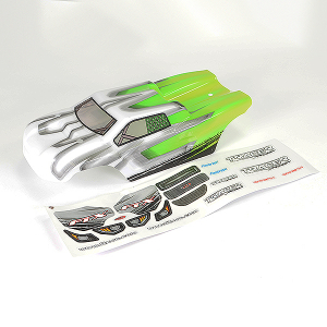 FTX TRACER TRUGGY BODY & DECAL - GREEN