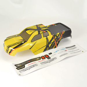 FTX TRACER TRUCK BODY & DECAL - YELLOW OPTION