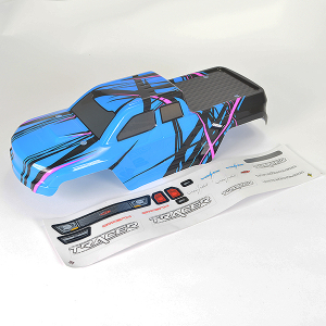 FTX TRACER TRUCK BODY & DECAL - BLUE OPTION