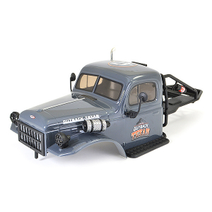 FTX TEXAN 1/10 CAB BODYSHELL & ROLL CAGE ASSEMBLY - GREY