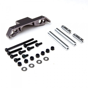 GMADE GS01 FRONT AXLE TRUSS UPPER LINK MOUNT (TI. GREY)