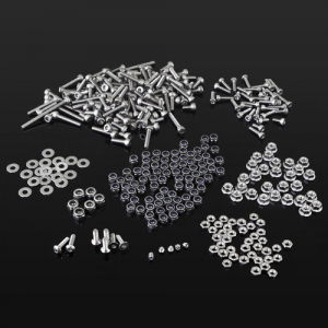 GMADE STAINLESS STEEL HEX BOLTS & NUTS FRO GS01 CHASSIS