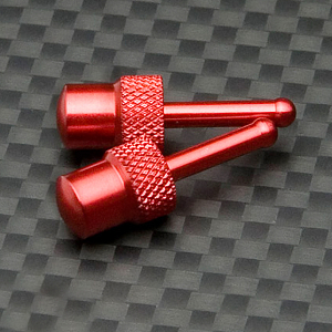 GMADE G-AIR SYSTEM WHEEL RED METAL STOPPERS (2)