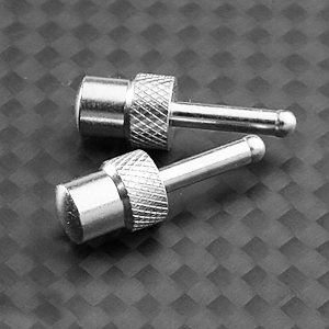 GMADE G-AIR SYSTEM WHEEL SILVER METAL STOPPERS (2)