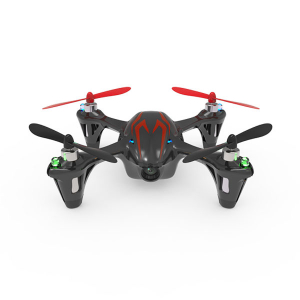 HUBSAN X4 MINI QUAD LED BK/RED w/HD720P CAMERA 4CH 2.4g Mode1