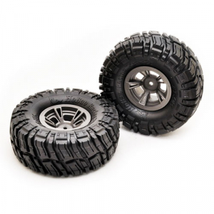 HOBAO DC-1 WHEELS & TIRES SET (1.9