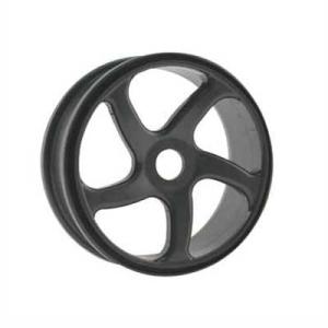 HoBao Trailing 5-spoke 1/8th Buggy Wheels - Pair - Gun Grey