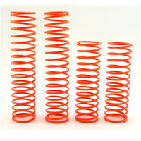 HoBao Hyper Big Bore Shock Springs Orange (4) 95mm 0.5kgf/cm