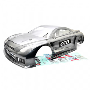 HOBAO HYPER GTB PAINTED BODY-LONG (GREY)
