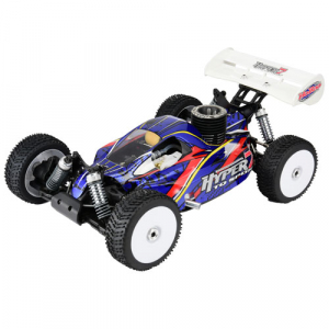 HOBAO HYPER 7 TQ2 RTR BUGGY w/MAC*28 TURBO ENGINE, 2.4ghz RADIO