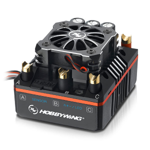 HOBBYWING XERUN-XR8-PLUS ESC SPEED CONTROLLER - BLACK