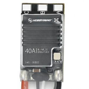 HOBBYWING XROTOR 40A MICRO 3-6S BL HELI 32BIT DSHOT1200