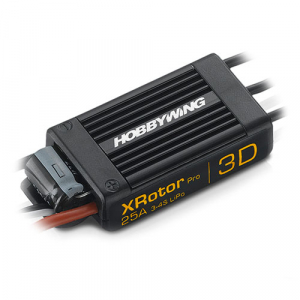 HOBBYWING XROTOR PRO 25A 3D WIRE LEADED-DUAL PACK