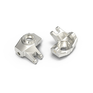 GMADE  GA44 ALUMINUM STEERING KNUCKLE (SILVER)