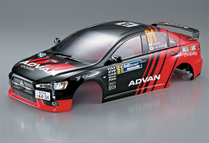KILLERBODY MITSUBISHI LANCER EVO X FINISHED BODY RACING