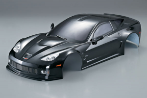 KILLERBODY CORVETTE GT2 190MM BLACK FINISHED BODY