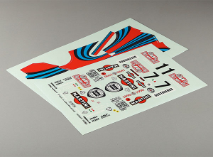 KILLERBODY DECAL SHEET (LANCIA DELTA HF INTEGRALE 16V)