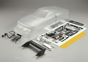 KILLERBODY LANCIA BETA MONTECARLO 190MM CLEAR BODY