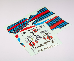 KILLERBODY DECAL SHEET LANCIA BETA MONTECARLO (MARTINI)