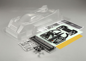 KILLERBODY LANCIA LC2 1/12 CLEAR BODY
