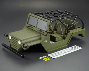 KILLERBODY WARRIOR 1/10 CRAWLER FINISHED MATT GREEN BODY