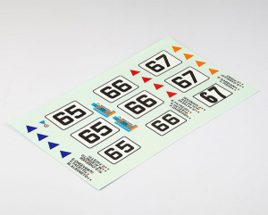 KILLERBODY DECAL SHEET LANCIA BETA MONTECARLO (NUM/DRIVERS)